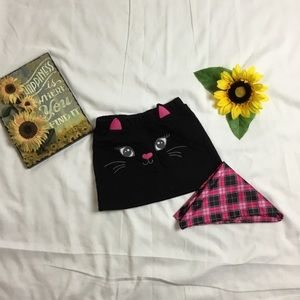 Children's place black kid skirt